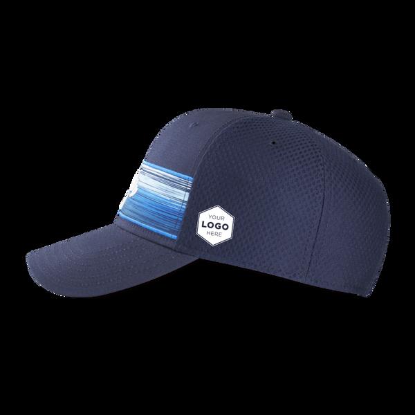 Stripe Mesh Logo Cap - View 5