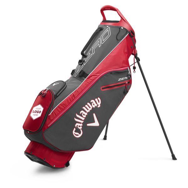 Hyperlite Zero Single Strap Logo Stand Bag - View 1