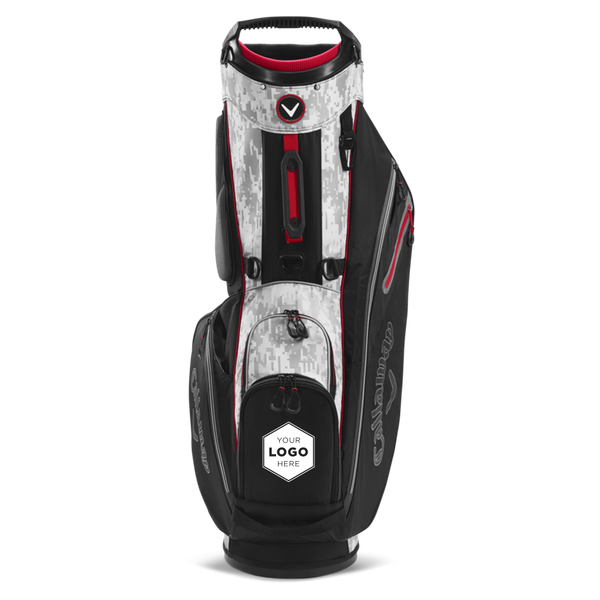 Fairway Single Strap Stand Logo Bag - View 3