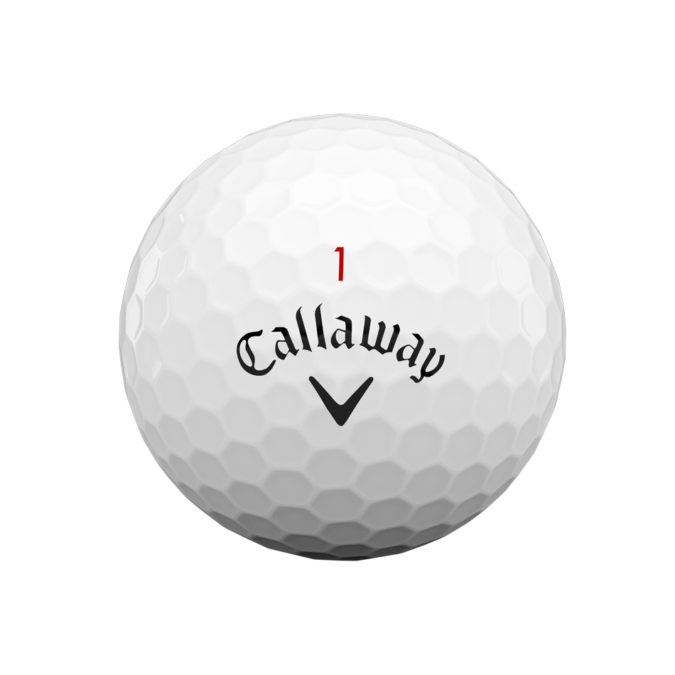 Chrome Soft Logo Golf Balls - View 3