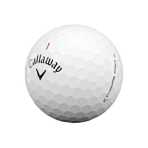 Chrome Soft Logo Golf Balls - View 4