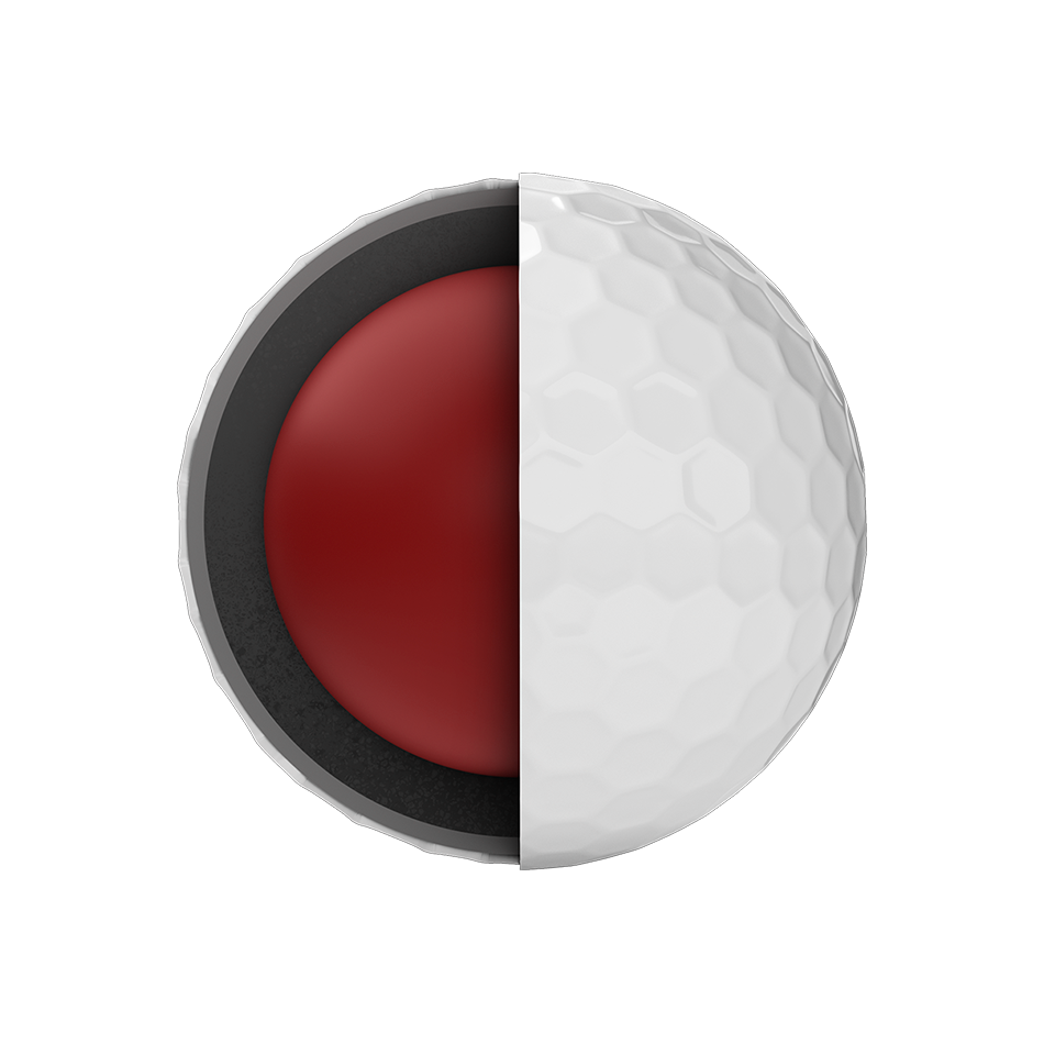 Chrome Soft Logo Golf Balls - View 5
