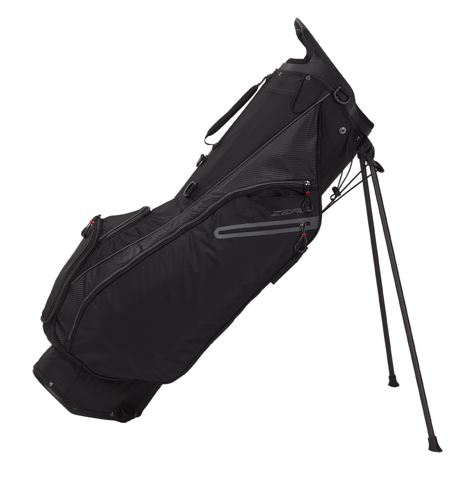 Hyperlite Zero Double Strap Logo Ready Stand Bag - Featured