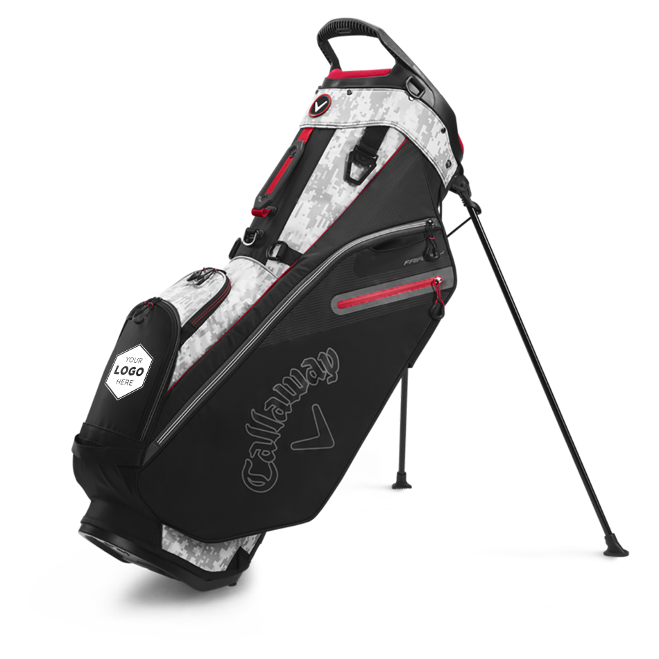 Fairway Double Strap Stand Logo Bag - View 1
