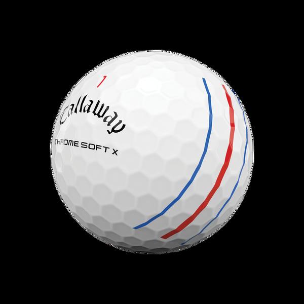 Chrome Soft X Triple Track Logo Golf Balls - View 4