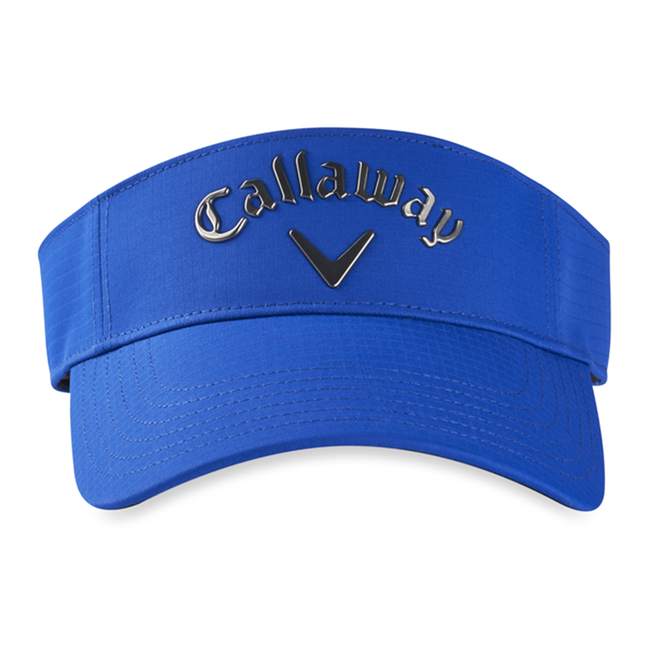 Liquid Metal Logo Visor - View 3