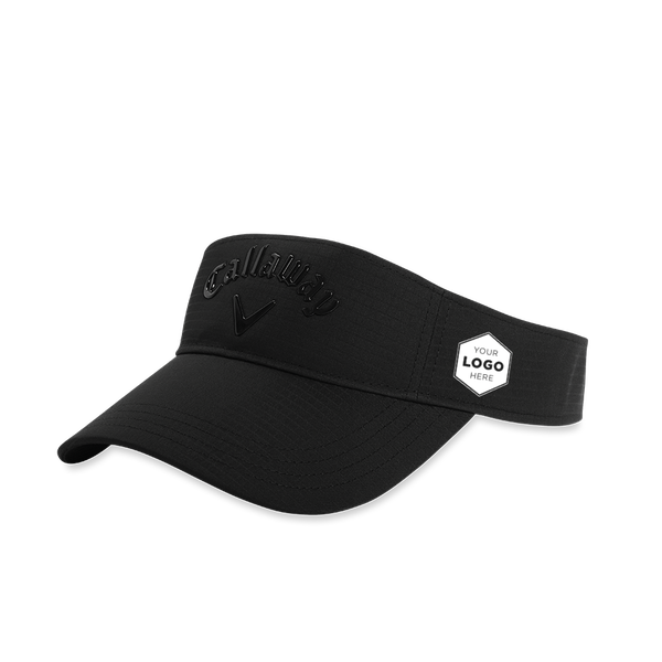Liquid Metal Logo Visor - View 1