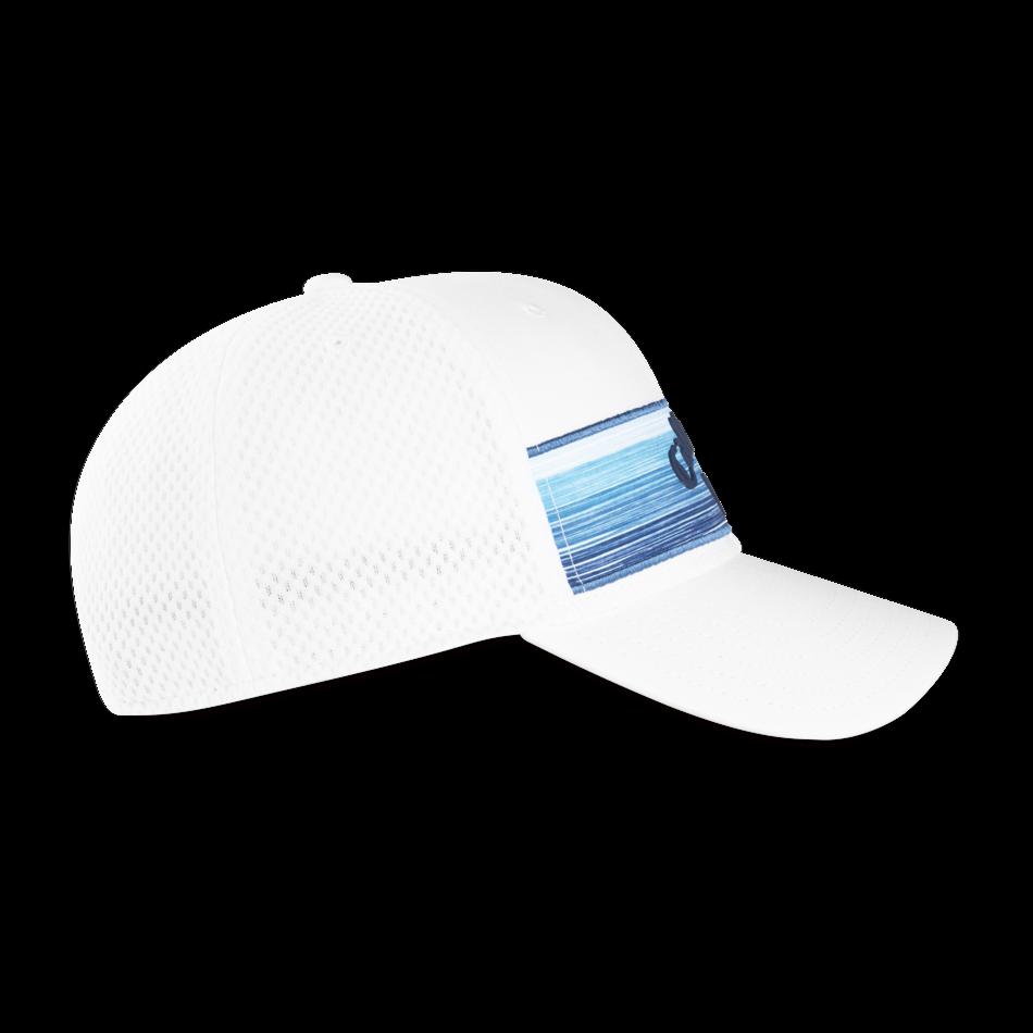 Stripe Mesh Logo Cap - View 2