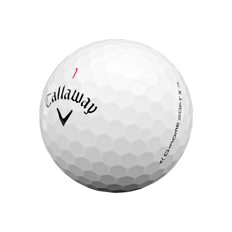 Chrome Soft X Logo Golf Balls - View 4