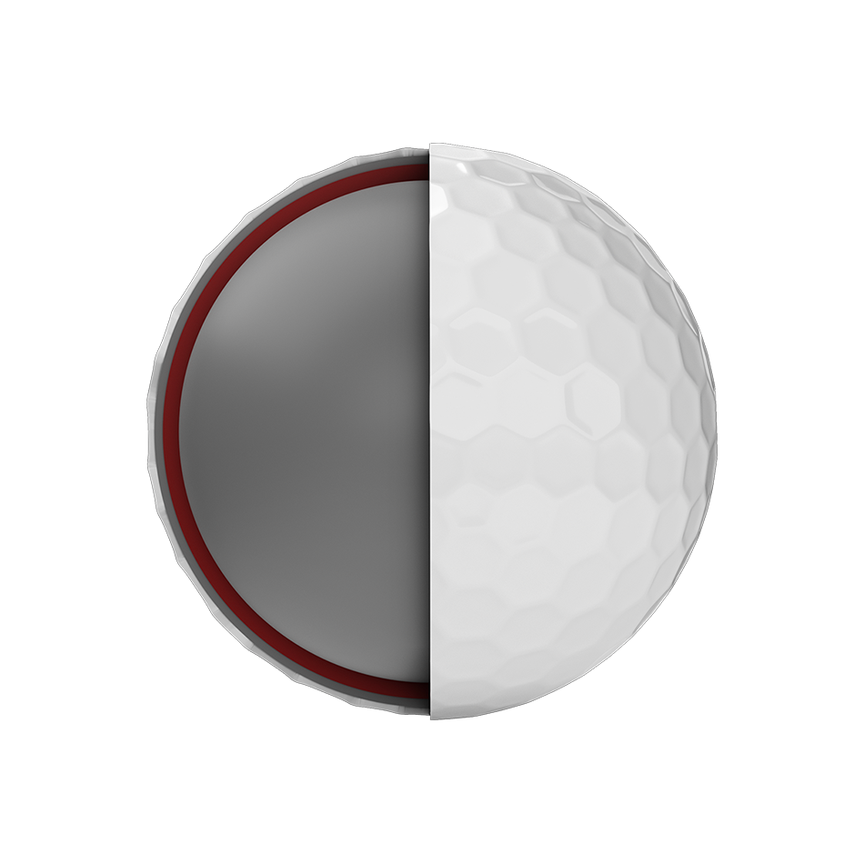 Chrome Soft X Logo Golf Balls - View 5