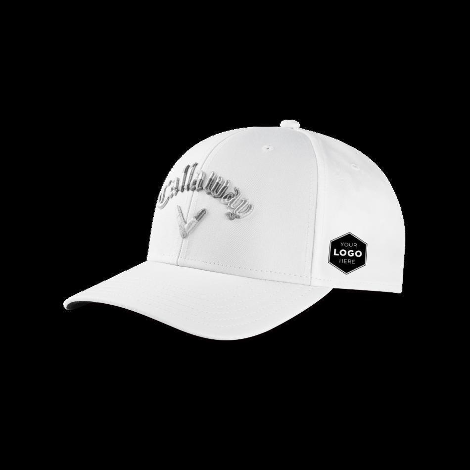 Camo Logo Snapback - View 1