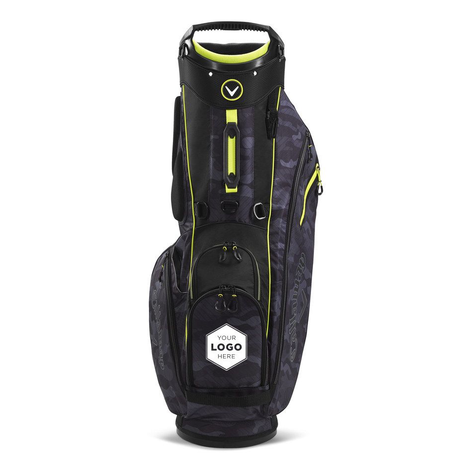 Fairway Double Strap Stand Logo Bag - View 3