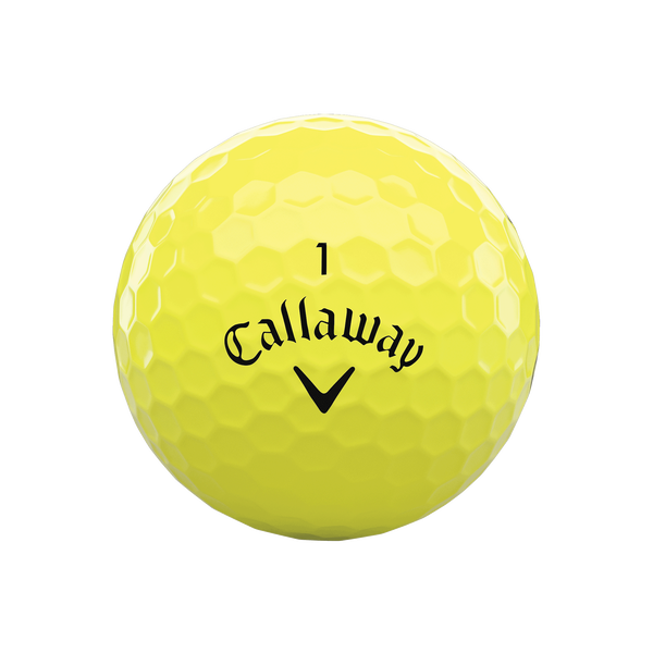 Callaway Supersoft MAX Yellow Golf Balls - View 3