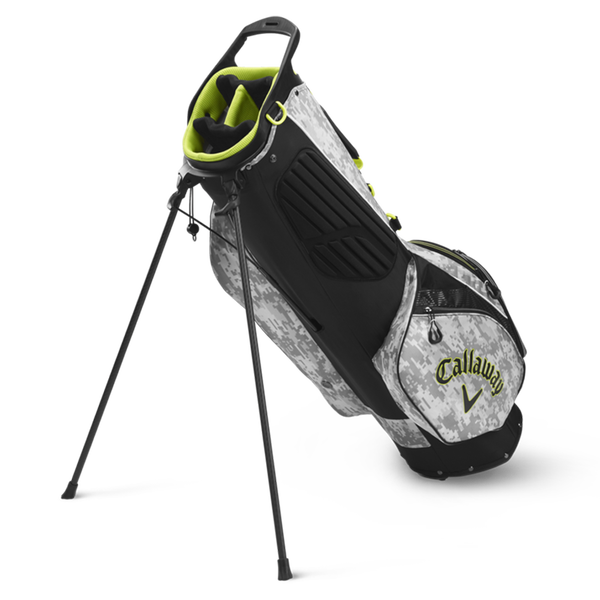 Hyperlite Zero Double Strap Logo Stand Bag - View 2
