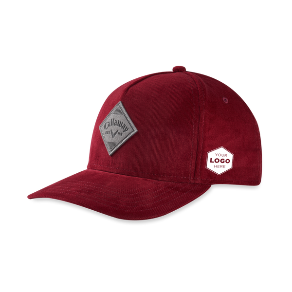Corduroy Logo Hat - View 1