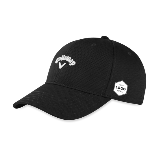 Stretch Fitted Logo Cap