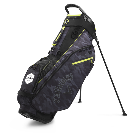 Fairway Double Strap Stand Logo Bag