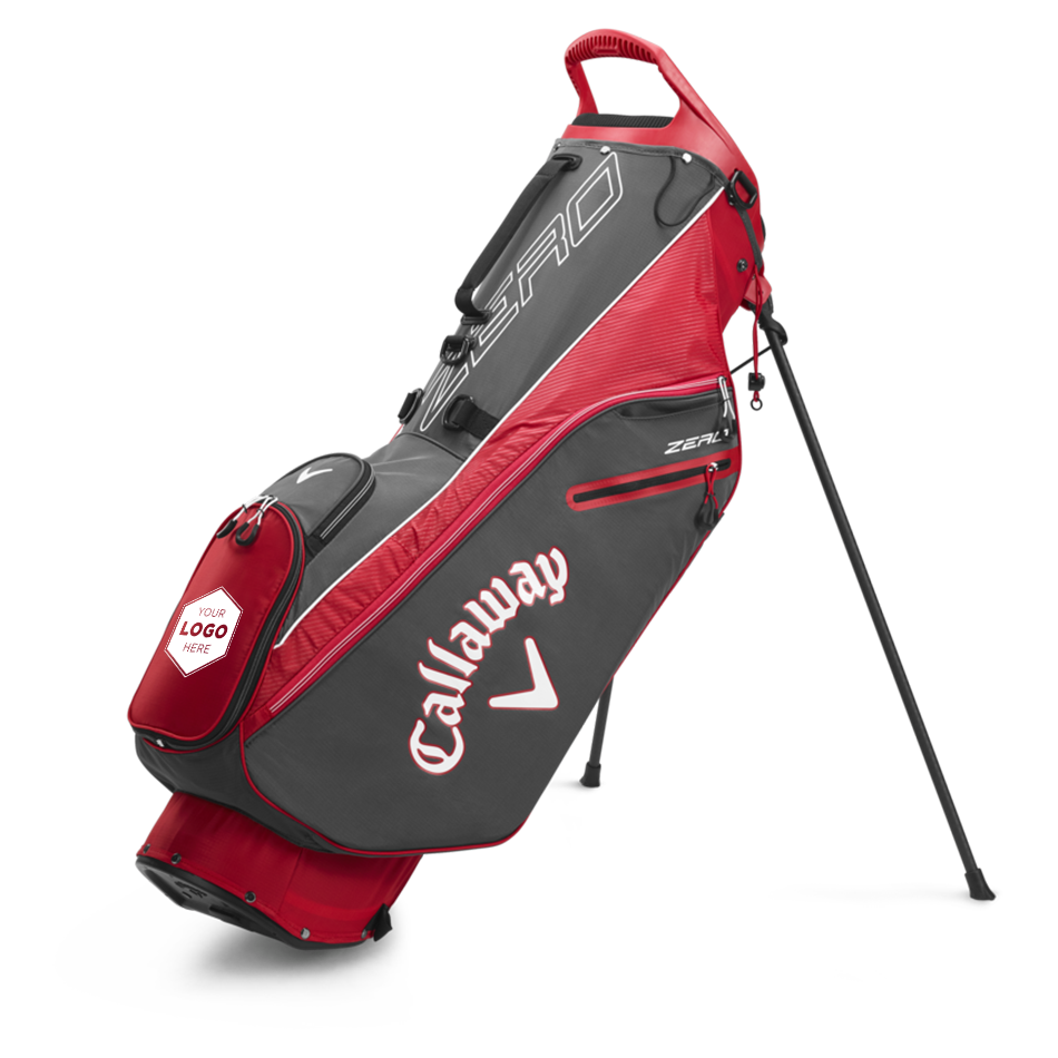 Hyperlite Zero Double Strap Logo Stand Bag - Featured