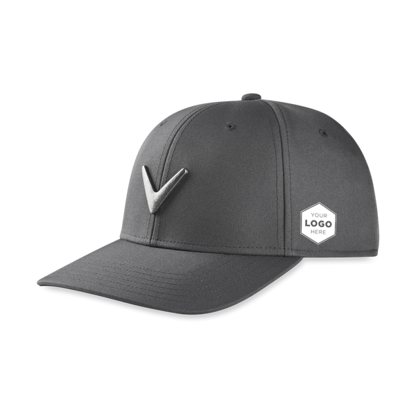 Metal Icon Logo Cap - View 1