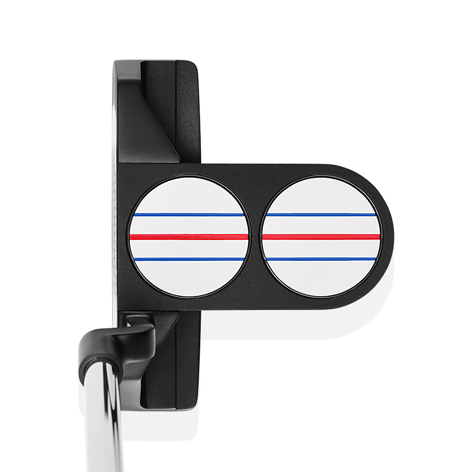 Triple Track 2-Ball Blade Logo Putter - Featured