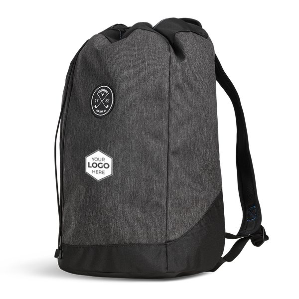 Clubhouse Logo Drawstring Backpack - View 2