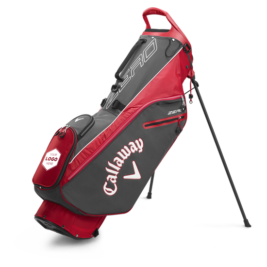 Hyperlite Zero Double Strap Logo Stand Bag