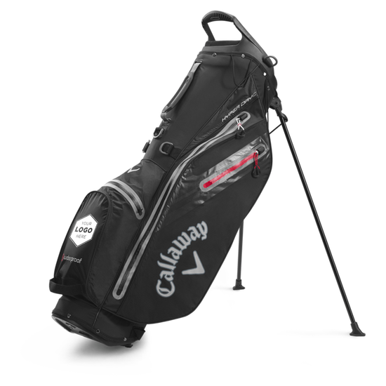 Hyper Dry C Single Strap Logo Stand Bag
