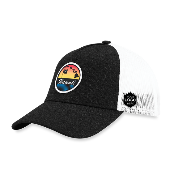 Hawaii Trucker Logo Cap
