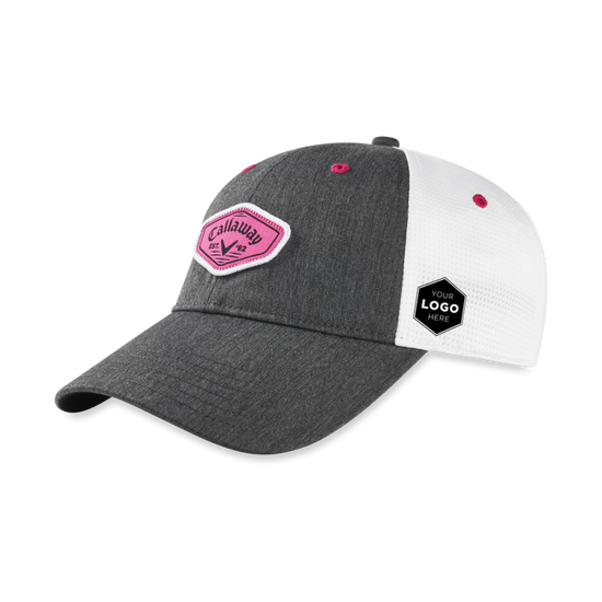 Women's Heathered Logo Cap