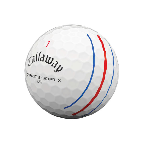 Chrome Soft X LS Triple Track Golf Balls - View 4