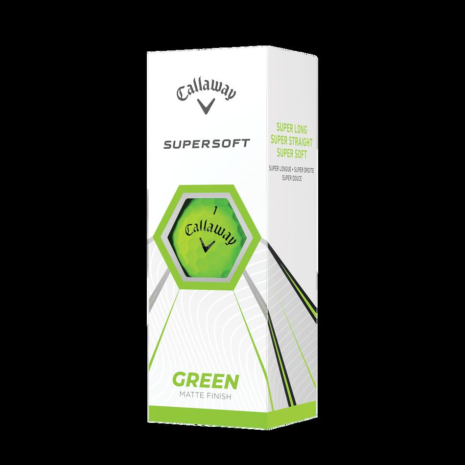 Callaway Supersoft Matte Green Golf Balls - View 2