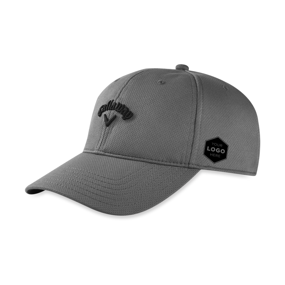 Stretch Fitted Logo Cap - View 1