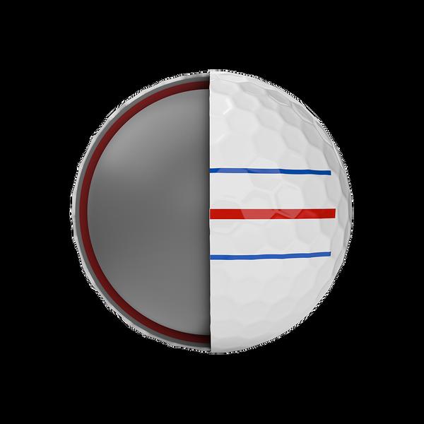 Chrome Soft X Triple Track Logo Golf Balls - View 5