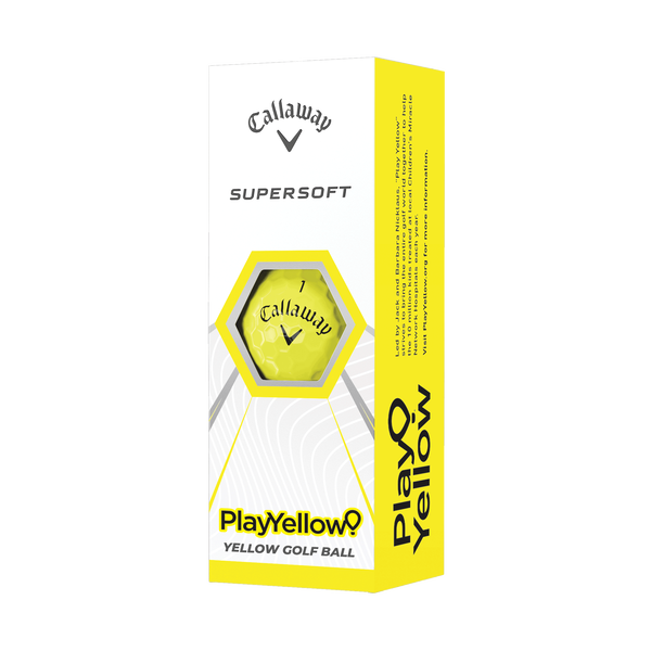 Supersoft Play Yellow Golf Balls - View 1