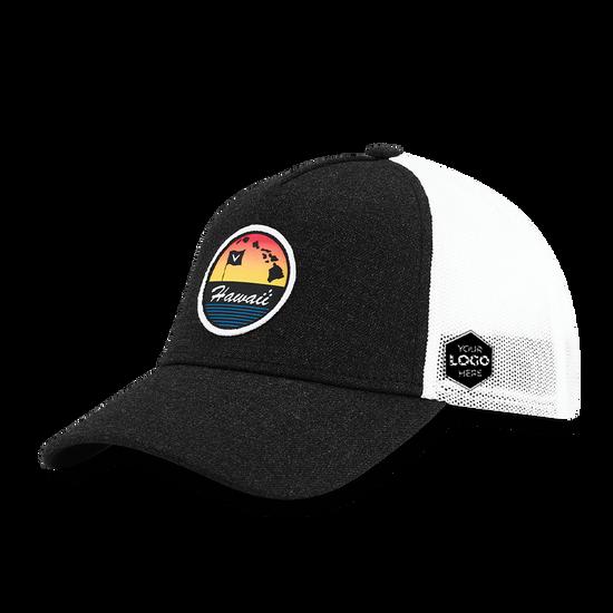 Hawaii Trucker Logo Cap