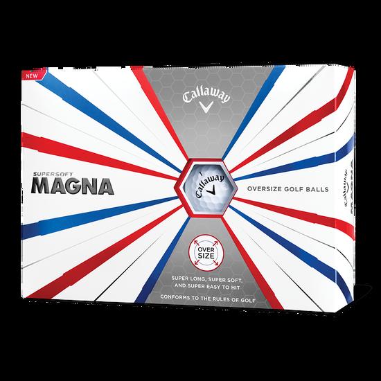 Supersoft Magna Logo Golf Balls
