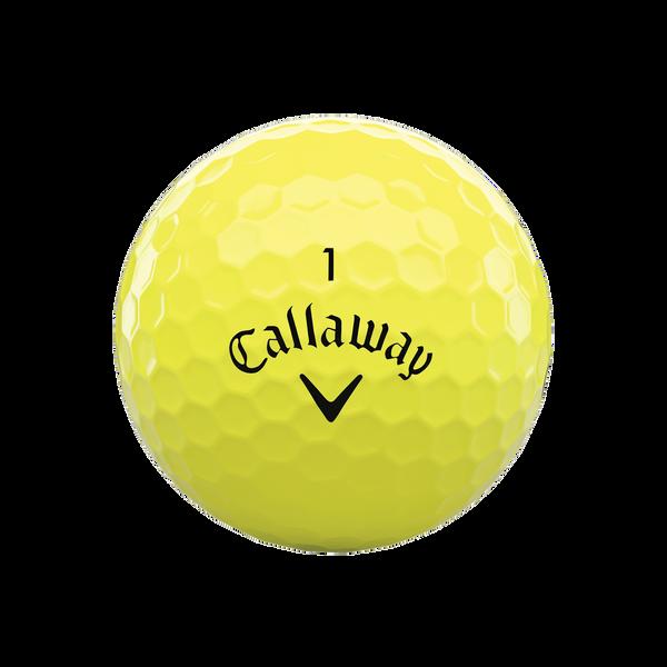 Callaway Supersoft MAX Yellow Golf Balls - View 3