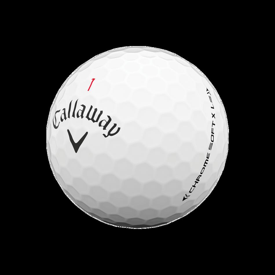 Chrome Soft X LS Golf Balls - View 4