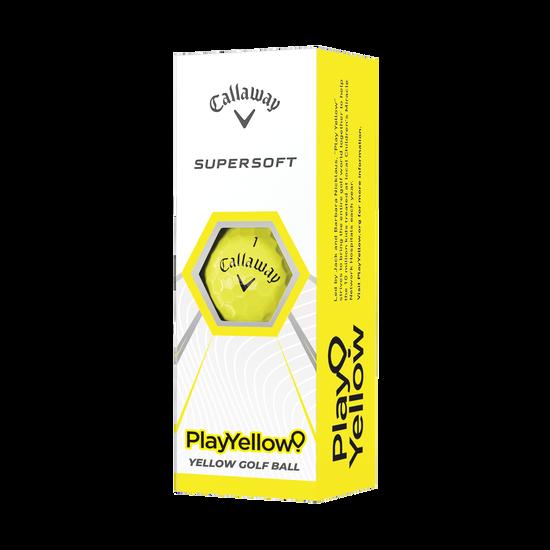Supersoft Play Yellow Golf Balls