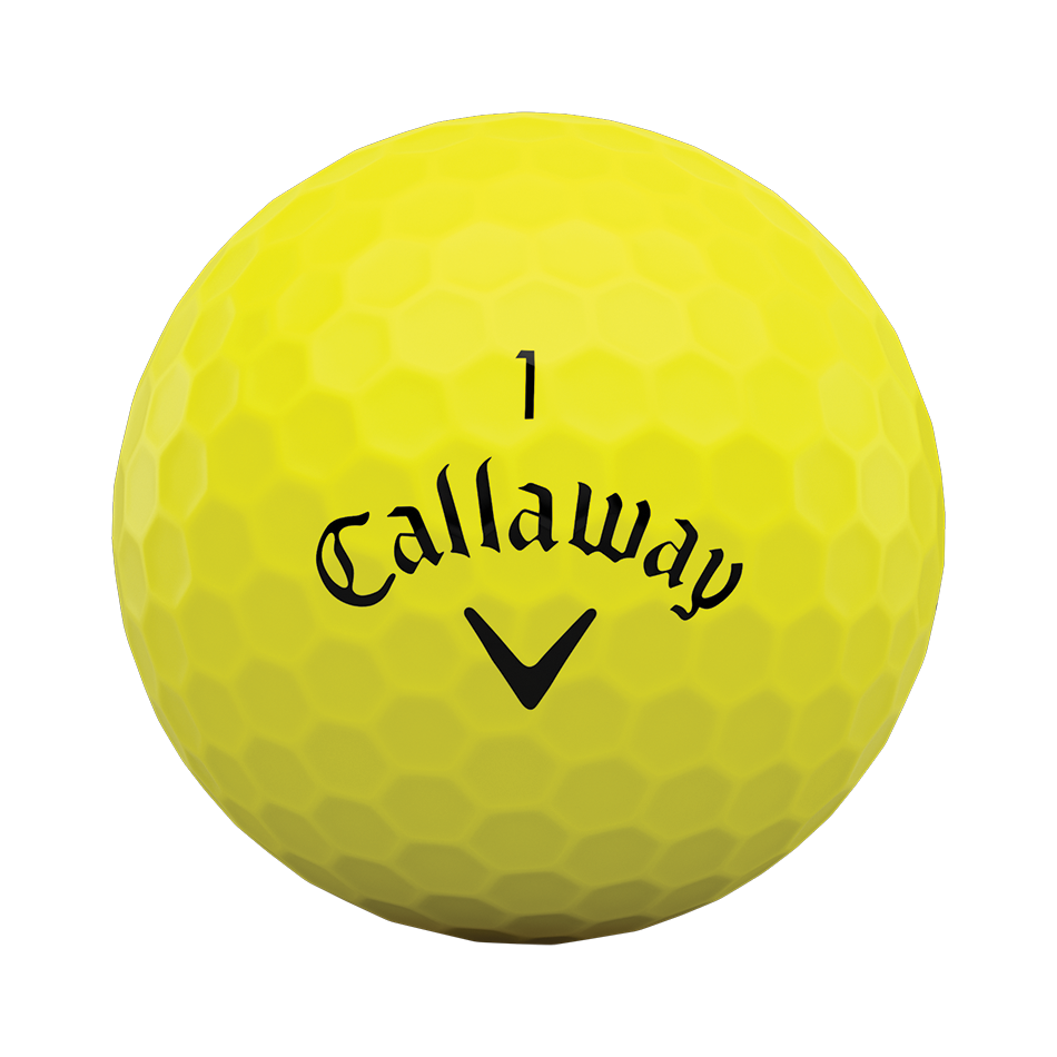 Superhot Bold Yellow 15-Pack Logo Golf Balls - View 3