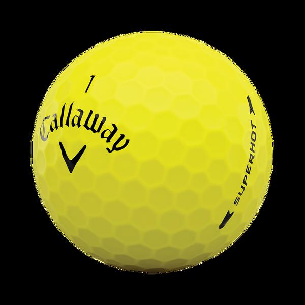 Superhot Bold Yellow 15-Pack Logo Golf Balls - View 4