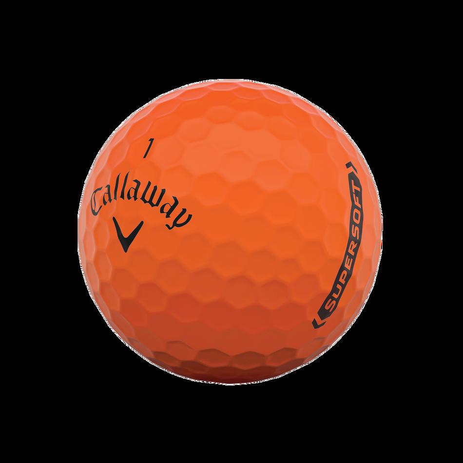 Callaway Supersoft Matte Orange Golf Balls - View 4