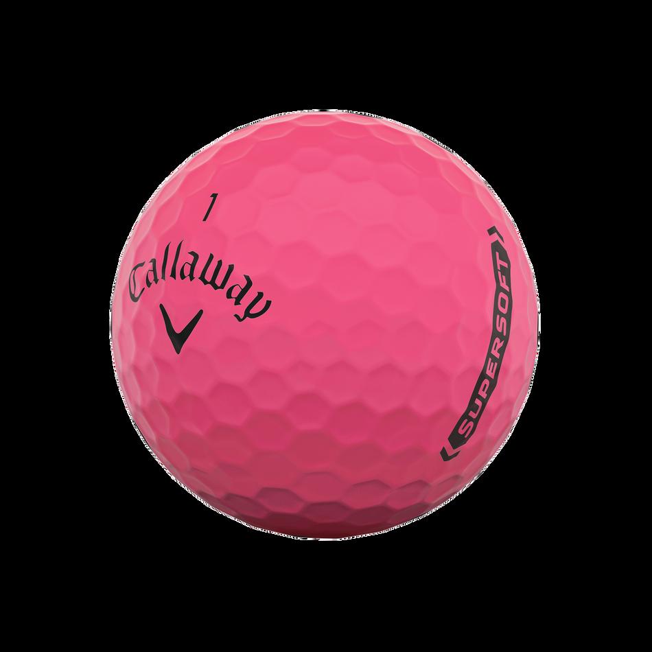 Callaway Supersoft Matte Pink Golf Balls - View 4