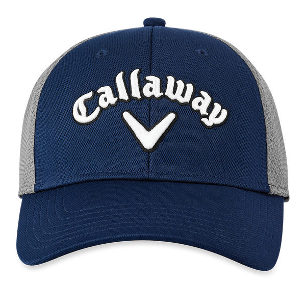 Mesh Fitted Logo Cap - View 3