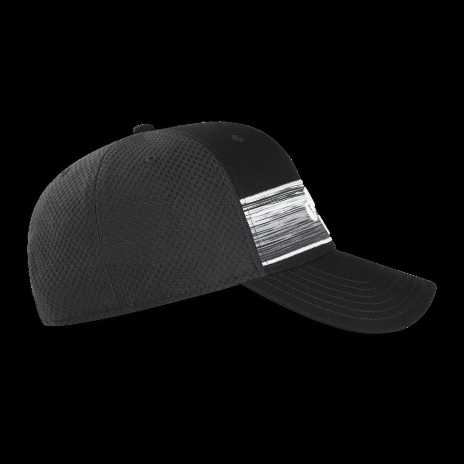 Stripe Mesh Logo Cap - View 4