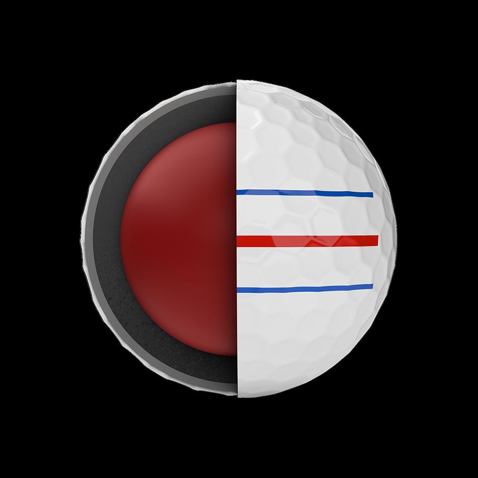 Chrome Soft Triple Track Logo Golf Balls - View 2