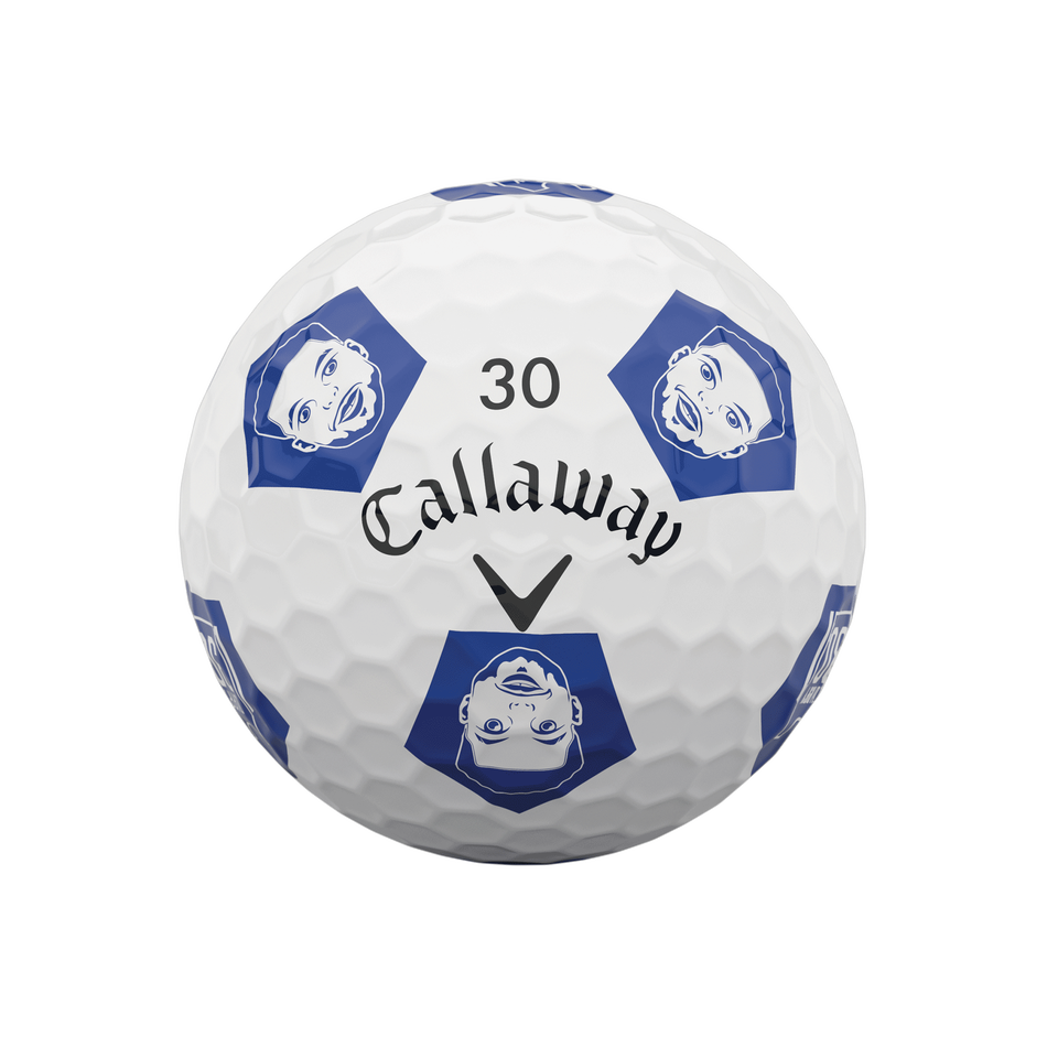 Limited Edition Chrome Soft Truvis Eat. Learn. Play. Golf Balls - View 3