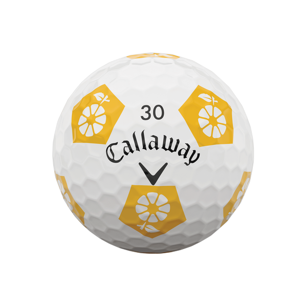 Limited Edition Chrome Soft Truvis Eat. Learn. Play. Golf Balls - View 5