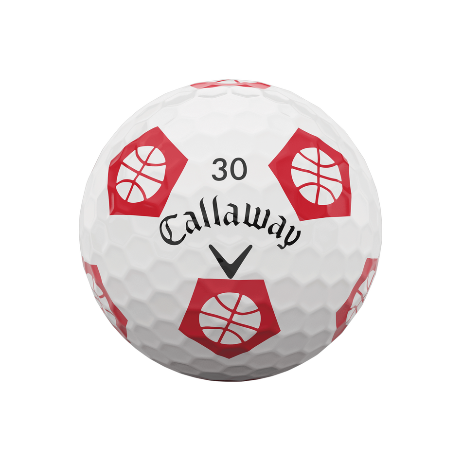 Limited Edition Chrome Soft Truvis Eat. Learn. Play. Golf Balls - View 7
