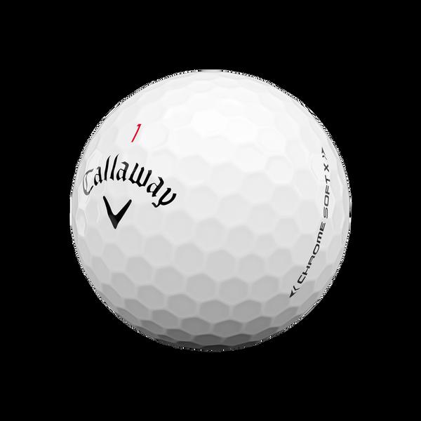 Chrome Soft X Logo Golf Balls - View 4